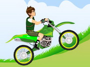 Ben 10 Motocross Game