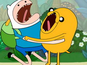 Adventure Time Jugle Game