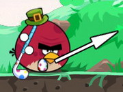 Angry Birds Golf Competition Game