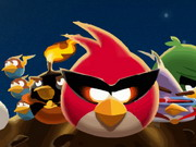 Angry Birds Space Bike Game