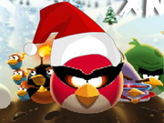 Angry Birds Space Xmas Game