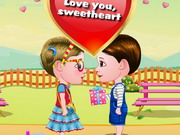 Baby Hazel And Liam Valentine's Day Game