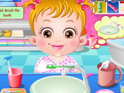 Baby Hazel Brushing Time Game