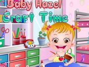 Baby Hazel Craft Time Game