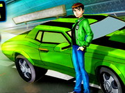 Ben10 Drift Game