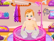 Chubby Girl Baby Dressup Game
