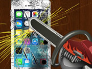 Crazy Iphone Destroyer Game