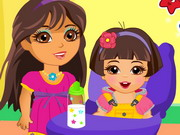 Dora Babysitter Game