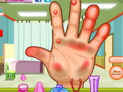Dora Hand Doctor Caring Game