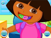 Dora Tooth Decoration Game