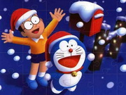 Doraemon Jigsaw Puzzle Game