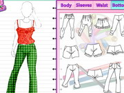 Design Dresses Online Game Fashion Studio Pajama Design