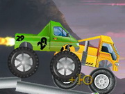 Monster Truck Halloween Race Game