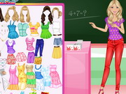 Soft Barbie Teacher Game