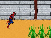 Spiderman Running Challenge Game