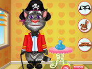 Talking Tom Dressup Game