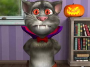 Talking Tom Halloween Game