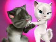 Talking Tom Valentine Game