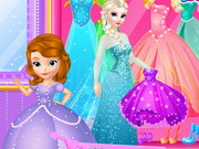 Elsa Goes To Clothes Shop