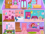 Princess ariel doll house decor game 2 play online for 3d decoration games