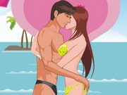 Beach Kiss Game