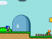 Sonic In Mario World 2 Game