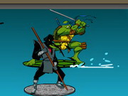 Teenage Mutant Ninja Turtles - Sewer Surf Showdown Game