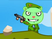 Happy Tree Friends - Flippy Attack Game
