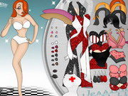 Jessica Rabbit Paperdoll Game
