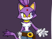 Blaze The Cat Dress Up