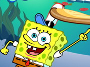 SpongeBob's Pizza Toss Game