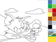 Tom And Jerry Painting Game